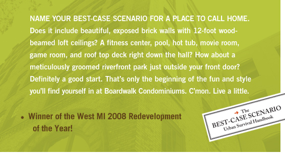 Boardwalk condos is your place to call home!  Many ammenities await you at Boardwalk Condos